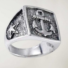 quadratischer Ring Anchor Logo