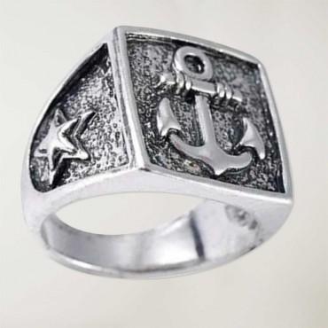 Square Ring Anchor Logo