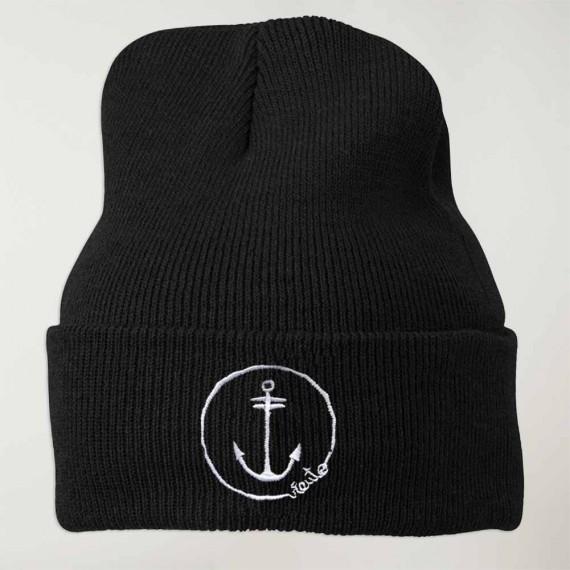 32a8e19422add Sailor Hat Black Anchor Logo