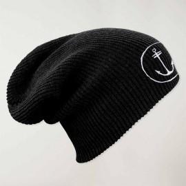 Bonnet haut Longue Noir