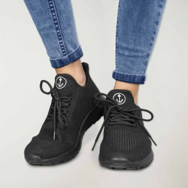 Sneakers Damen Schwarz Boost