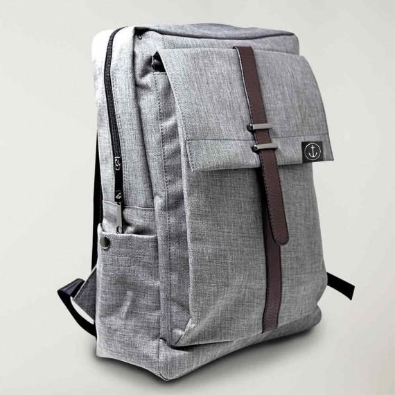 Backpack Gray Minimal