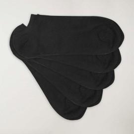 Unsichtbare Socken im 5er-Set Herren Schwarze Viento Basics