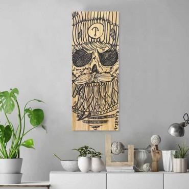 Long Wooden Table Sailing Ghost Original