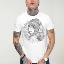 Camiseta de Hombre Blanca Woman Captain OUTLET