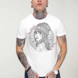 Men T-Shirt White Woman Captain OUTLET