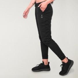 Pantalon de jogging Femme Noir Comfy