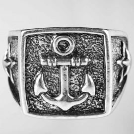 Anillo Cuadrado Anchor Logo