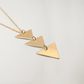 Collier Unisex Triangle