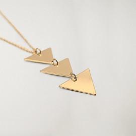 Necklace Unisex Triangle