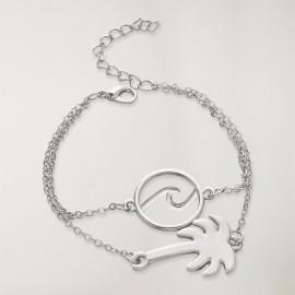 Bracelet Femme Argenté Tropical Dream