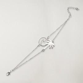 Silber Armband Damen Tropical Dream
