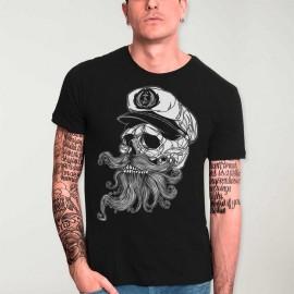 T-shirt Homme Noir Skull Mattketmo