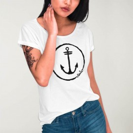 t-shirt Girlie WH - The Anchor Logo