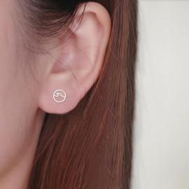 Boucles d'oreilles Argent Waves