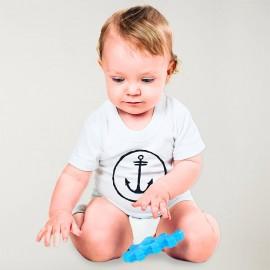 Camiseta Bebé Blanco Anchor Logo