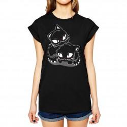 T-shirt Girlie BK - The Dark Unicorn (feat Dark World)