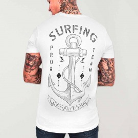 T-shirt Homme Blanc Pro Competition