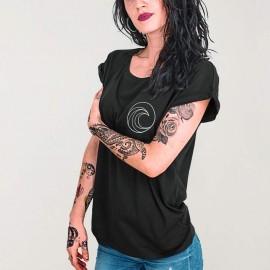 T-shirt Femme Noir Pro Competition