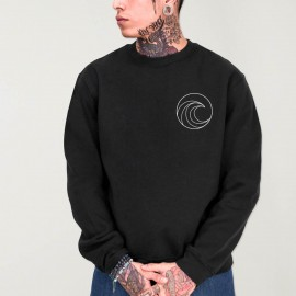 Men Sweatshirt Black Pro Competition