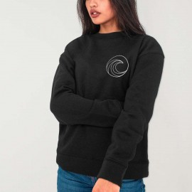 Women Sweatshirt Black Pro Competition