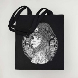 Cotton Bag Black Beauty Captain