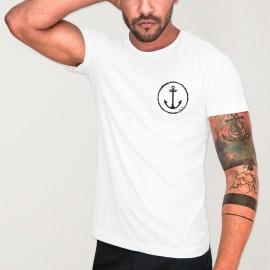 Camiseta de Hombre Blanca Viento Team