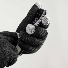 Guantes para pantalla táctil Unisex Negros Touch Screen