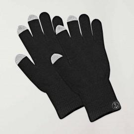 Gloves Unisex Black Touch Screen