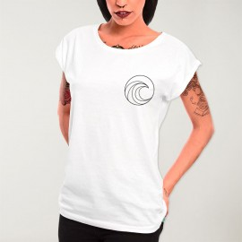 Women T-shirt White Pro Competition