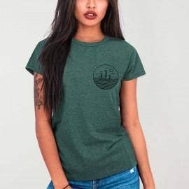 T-shirt Damen Grüne Drifter