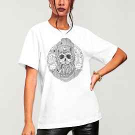 Unisex T-Shirt White Sailing Ghost