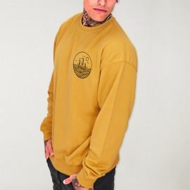 Sweatshirt de Hombre Mostaza Drifter