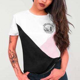 Camiseta de Mujer Blanca Triforce Heart of Marinera