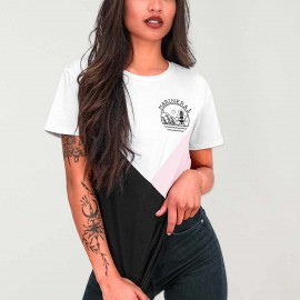 Women T-Shirt White Triforce Heart of Marinera