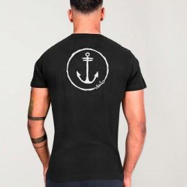 Men T-Shirt Black Viento Team