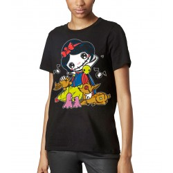 T-shirt Femme - The Dark Snow White BK (feat Dark World)