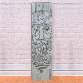 Langer Holzbrett Real Captain Gray Parquet